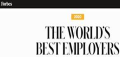 World best employer award logo image