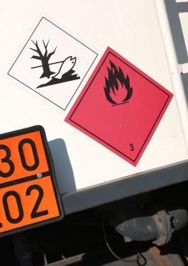 Hazard labels for dangerous goods, Bureau Veritas HSE